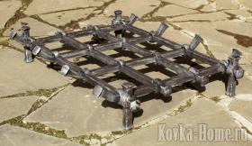 кованые колосники решетка, кованые колосники, колосники