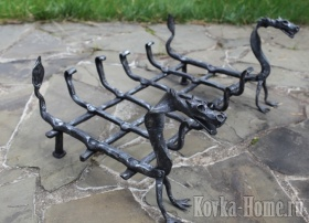 Кованая дровница, кованые дровницы,аксессуары для каминов, дровница для камина