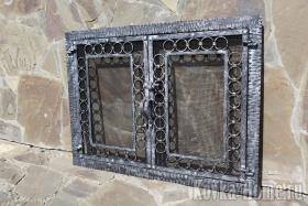 решетка для камина фото,каминная решетка, решетки для каминов, экран для камина, дверцы для каминов, аксессуары для камина