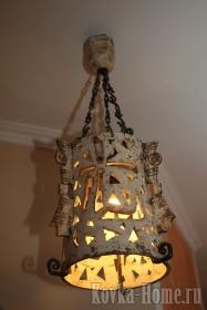 Кованая люстра, кованые люстры, кованые светильники