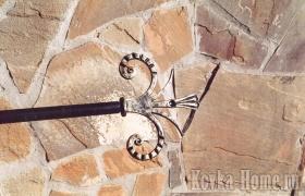 Кованый карниз для штор № 4 фото, аксессуары для штор