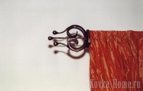 Кованый карниз для штор № 6 фото, аксессуары для штор