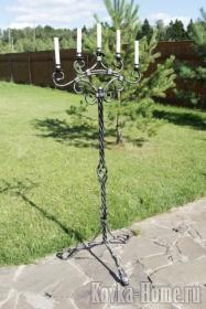 Кованый подсвечник, кованые подсвчники, кованый светильник, кованые светильники