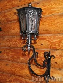 кованый светильник уличный, кованые светильники, кованый светильник, уличные светильники, кованые фонари