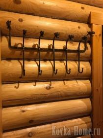 Кованая вешалка, кованая мебель, кованый интерьер