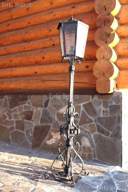 Кованые фонари для парка фото, кованые светильники, кованые фонари
