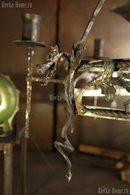 люстра кованаяТоскана фото, кованые светильники, кованые фонари