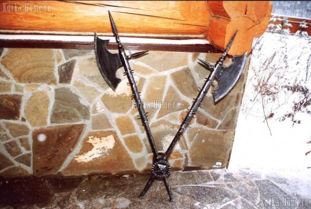 Кованые предметы интерьера, кованая мебель