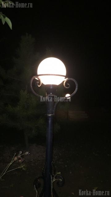 фонарь для парка, садовый фонарь