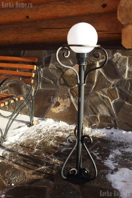 Кованые фонари, кованый фонарь, кованый уличный фонарь, кованые светильники